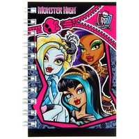 блокнот А7 40л на гребне Monster High 40ЗК7B1гр 1020821, Monster High. Интернет-магазин Vseinet.ru Пенза