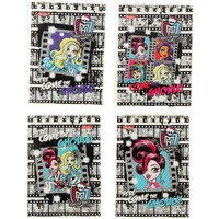 блокнот А7 40л на гребне Monster High микс 40Б7B1гр 992941, Monster High. Интернет-магазин Vseinet.ru Пенза