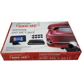 Парктроник Sho-me Y-2612N08 Black (флюор. дисплей)