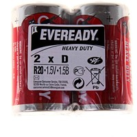 батарейка солевая Energizer Eveready D R20 набор 2 шт   190614, Energizer. Интернет-магазин Vseinet.ru Пенза