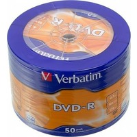 Диск DVD-R Verbatim 4.7Gb 16x AZO matt silver wagon wheel (50шт) 43731. Интернет-магазин Vseinet.ru Пенза