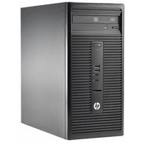 Компьютер HP 280 G1 MT, Intel Core i3 4160, DDR3 4Гб, 500Гб, Intel HD Graphics 4400, DVD-RW, Free DOS, черный [k8k51es]. Интернет-магазин Vseinet.ru Пенза