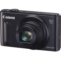 "Фотоаппарат Canon PowerShot SX610 HS черный 20Mpix Zoom18x 3"" 1080p SDXC CMOS IS opt 5minF 30fr/s HDMI/WiFi/NB-6LH. Интернет-магазин Vseinet.ru Пенза"