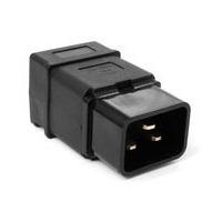 Вилка Lanmaster IEC 60320 C20 16A 250V разборная черная. Интернет-магазин Vseinet.ru Пенза