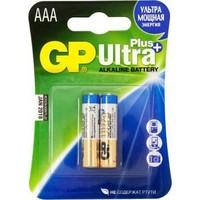 Фото Батарея GP Ultra Plus Alkaline 24AUP LR03, 2 шт AAA. Интернет-магазин Vseinet.ru Пенза