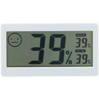 Термометр электронный с гигрометром (DC206), на батарейках, пластик 567534 1048613