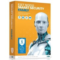 ПО Eset NOD32 Smart Security Family - лицензия на 1 год на 5ПК (NOD32-ESM-NS(BOX)-1-5). Интернет-магазин Vseinet.ru Пенза