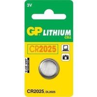 Батарея GP Lithium CR2025 (1шт. уп). Интернет-магазин Vseinet.ru Пенза