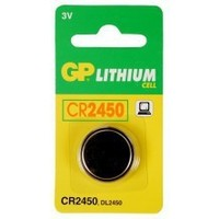 Батарея GP Lithium CR2450 (1шт. уп). Интернет-магазин Vseinet.ru Пенза