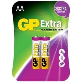 Батарея GP Extra Alkaline 15AX LR6 AA (2шт. уп)