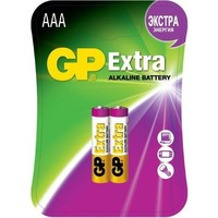 Батарея GP Extra Alkaline 24AX LR03 AAA (2шт. уп). Интернет-магазин Vseinet.ru Пенза