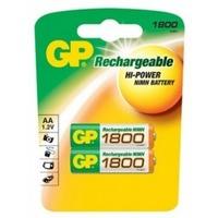 Аккумулятор AA GP 180AAHC, Ni-MH, 1800 mAh, 1.2 V (в упаковке 2 шт., цена за 1 шт.). Интернет-магазин Vseinet.ru Пенза