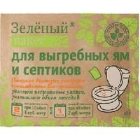 Пакет ДОКТОР РОБИК Зеленый, для выгребных ям и септиков. Интернет-магазин Vseinet.ru Пенза