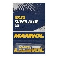 MANNOL Клей гелевый /GEL SUPER GLUE/ 3гр (12шт/уп) 2457 (18759). Интернет-магазин Vseinet.ru Пенза