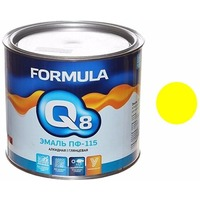 Эмаль ПФ-115 (желтая 1,9кг) Formula Q8. Интернет-магазин Vseinet.ru Пенза