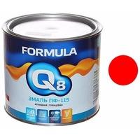 Эмаль ПФ-115 (красная 2,7 кг) Formula Q8. Интернет-магазин Vseinet.ru Пенза