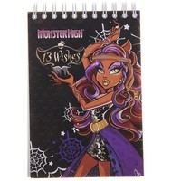 блокнот А6 60л на гребне Мonster High клетка 85195 104057, Monster High. Интернет-магазин Vseinet.ru Пенза