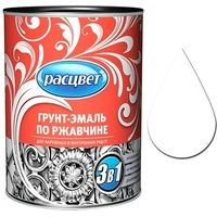 """Грунт-эмаль по ржавчине алкидная 0,9 кг. """"РАСЦВЕТ"""" белая. Интернет-магазин Vseinet.ru Пенза"""