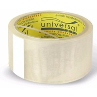 Фото Клейкая лента упаковочная 50мм х 66м UNIVERSAL (прозрачная) Э арт.11810. Интернет-магазин Vseinet.ru Пенза