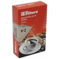 Фильтры для кофе Filtero Classic №2/80 коричневые для кофеварок с колбой на 4-8 чашек. Интернет-магазин Vseinet.ru Пенза