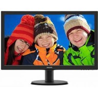 "Монитор Philips 23.6"" 243V5QHAB (00/01) черный AMVA LED 12ms 16:9 DVI HDMI M/M матовая 300cd 1920x1080 D-Sub 1080p 3.66кг. Интернет-магазин Vseinet.ru Пенза"