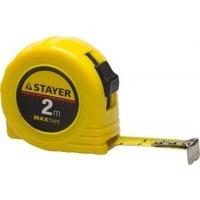 """Рулетка Stayer 34014-02-16 """"МASTER"""" """"MaxTape"""", пластиковый корпус, 2м/16мм. Интернет-магазин Vseinet.ru Пенза"""