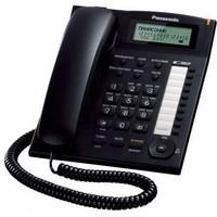 Телефон Panasonic KX-TS2388RUB чёрный. Интернет-магазин Vseinet.ru Пенза