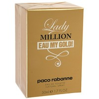 Туалетная вода Paco Rabanne Lady Million Eau My Gold, 50 мл   1172486, Paco Rabanne. Интернет-магазин Vseinet.ru Пенза