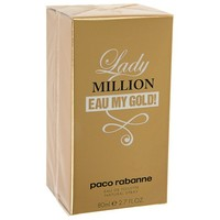 Туалетная вода Paco Rabanne Lady Million Eau My Gold, 80 мл   1172487, Paco Rabanne. Интернет-магазин Vseinet.ru Пенза