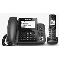Фото Р/Телефон Dect Panasonic KX-TGF320RUM черный металлик автооветчик АОН. Интернет-магазин Vseinet.ru Пенза