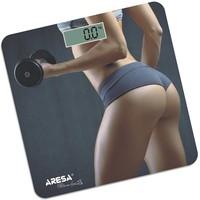 Весы напольные Aresa SВ-311, серые с рисунком. Интернет-магазин Vseinet.ru Пенза