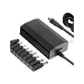 Фото Автомобильная электроника Зарядное устройство Ginzzu GA-4290U Адаптер питания для ноутбуков Car Universal USB 90 W. Интернет-магазин Vseinet.ru Пенза