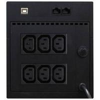 Источник бесперебойного питания Powercom RAPTOR RPT-1025AP 615Вт 1025ВА черный. Интернет-магазин Vseinet.ru Пенза