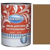 """Эмаль """"Расцвет"""" для пола быстросохнущая золотисто-коричневая 1,9 кг.. Интернет-магазин Vseinet.ru Пенза"""