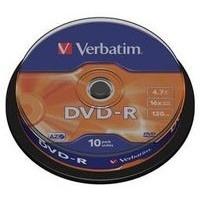 Диск DVD-R Verbatim 4.7Gb 16x bulk (10шт) (43729). Интернет-магазин Vseinet.ru Пенза