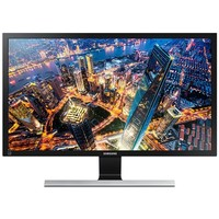 "Монитор Samsung 28"" U28E590D черный TN+film LED 16:9 HDMI матовая 700:1 370cd 170гр/160гр 3840x2160 DisplayPort Ultra HD 5.28кг. Интернет-магазин Vseinet.ru Пенза"