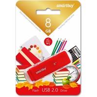 Флешка SmartBuy Dock  SB8GBDK-R 8Гб,  USB 2.0, красный (SB8GBDK-R). Интернет-магазин Vseinet.ru Пенза