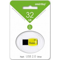 USB флэш накопитель 32 Gb SmartBuy Cobra Yellow SB32GBCR-Yl. Интернет-магазин Vseinet.ru Пенза
