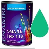 "Эмаль ""Простокрашено!"" светло-зеленая БАУ 0,9кг. Интернет-магазин Vseinet.ru Пенза"