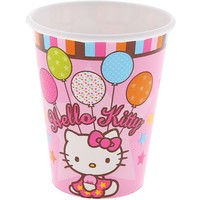 "Стакан ""Hello Kitty"" (набор 8шт.) 1502-0932   1187078, Hello Kitty. Интернет-магазин Vseinet.ru Пенза"