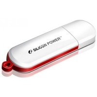 Флешка Silicon Power LuxMini  320  32Гб,  USB 2.0, белый (SP032GBUF2320V1W). Интернет-магазин Vseinet.ru Пенза