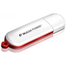 Фото Флешка Silicon Power LuxMini  320  32Гб,  USB 2.0, белый (SP032GBUF2320V1W). Интернет-магазин Vseinet.ru Пенза