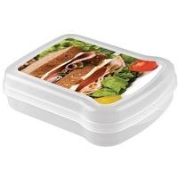 Контейнер для бутербродов с декором170х130х42мм арт.4312854 Бытпласт. Интернет-магазин Vseinet.ru Пенза