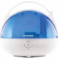 Увлажнитель воздуха Starwind SHC2416 25Вт (ультразвуковой) белый/синий. Интернет-магазин Vseinet.ru Пенза