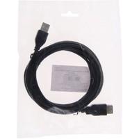 Кабель-удлинитель USB Am-Af 3м, черный, пакет   1205171. Интернет-магазин Vseinet.ru Пенза