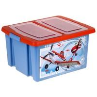 Ящик для хранения игрушек 30 л Disney Микс (для мальчиков)   1202062. Интернет-магазин Vseinet.ru Пенза