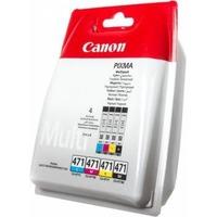 Картридж струйный Canon CLI-471C/M/Y/Bk 0401C004 многоцветный для Canon PIXMA MG5740/MG6840/MG7740. Интернет-магазин Vseinet.ru Пенза