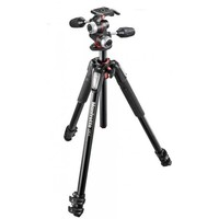 Трипод MANFROTTO 055 ALU 3-S, с головкой MK055XPRO3-3W. Интернет-магазин Vseinet.ru Пенза