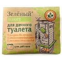 ДОКТОР РОБИК Зеленый пакет для дачного туалета. Интернет-магазин Vseinet.ru Пенза