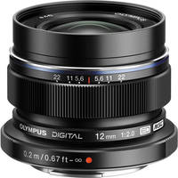 Olympus M.Zuiko Digital ED 12 mm f/2.0 for PEN Black. Интернет-магазин Vseinet.ru Пенза